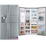 خرید انواع یخچال فریزر ال جی 30 فوت