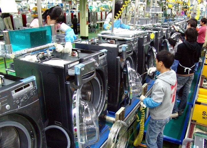 واردات ماشین لباسشویی ال جی