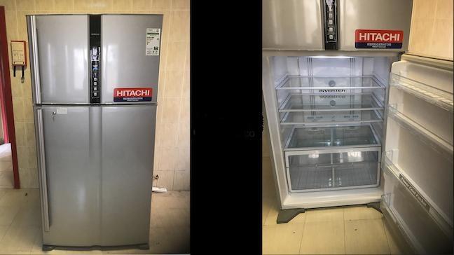 قیمت یخچال بالا پایین هیتاچی مدل RV910 ظرفیت 33 فوت