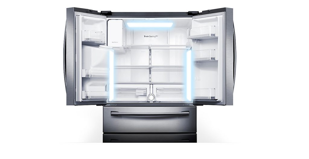 روشنایی فوق العاده ویژه روشنایی ال دی دی در این یخچال با طراحی کاملا ظریف، با بهره وری عالی انرژی و متمایزتر از مدل های قدیمی تر به کار گرفته شده است. هر گوشه ای از یخچال با روشنایی ویژه و نوری ایده ال روشن می شود.