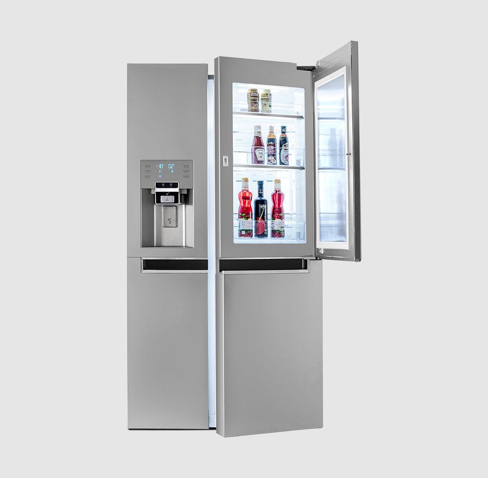 خرید یخچال ساید بای ساید دوو مدل D2S-0036SS از بانه
