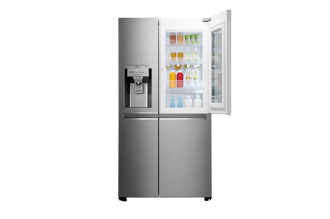 قیمت یخچال ساید بای ساید ال جی مدل X257 از بانه