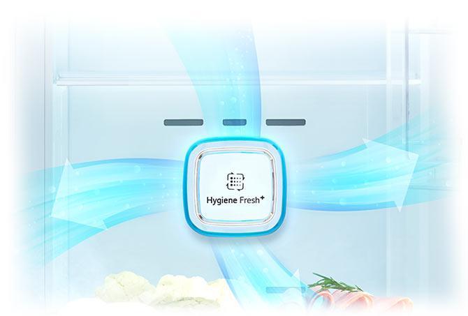 خرید یخچال ساید بای ساید ال جی مدلSXB530TS از بانه