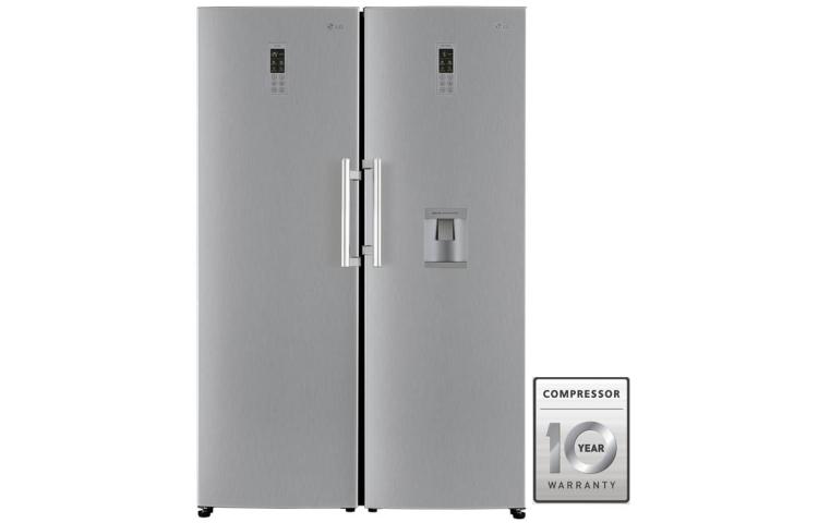 قیمت یخچال فریزر دوقلوی ال جی مدل GR-F401 _ GR-B404 از بانه