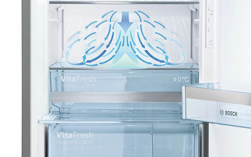 خرید یخچال دوقلوی سری ۶ بوش مدل GSD36AI204 ازبانه