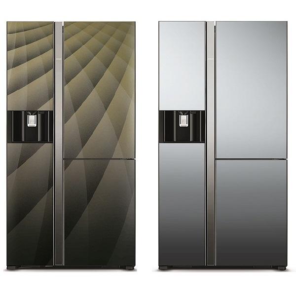 قیمت یخچال فریزر هیتاچی مدل R-M700AGP آینه ای