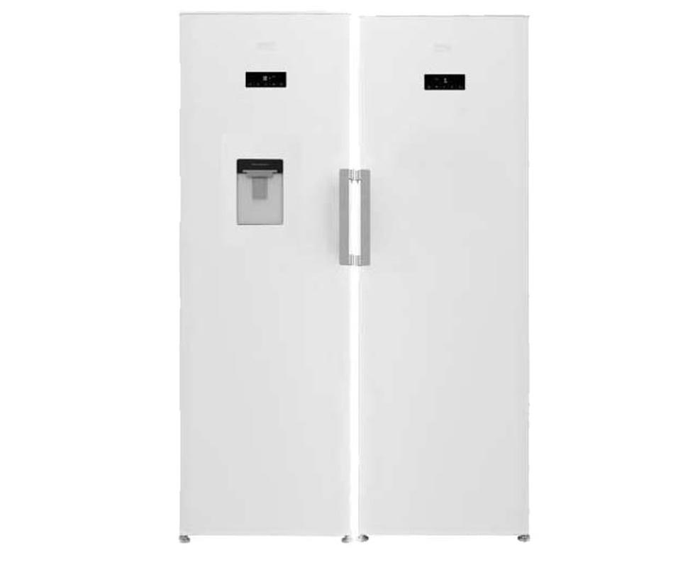 قیمت یخچال فریزر دو قلو بکو RSNE445 - RFNE350 گنجایش ۴۰ فوت