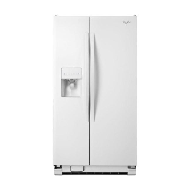 قیمت یخچال فریزر ساید بای ساید ویرپول 24 فوت مدل WRS325FDAW