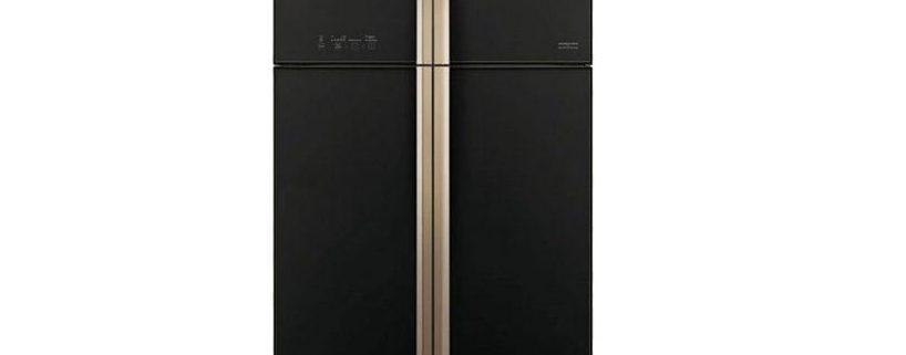 قیمت یخچال فریزر ساید بای ساید 24 فوتی هیتاچی مدل SIDE RW600