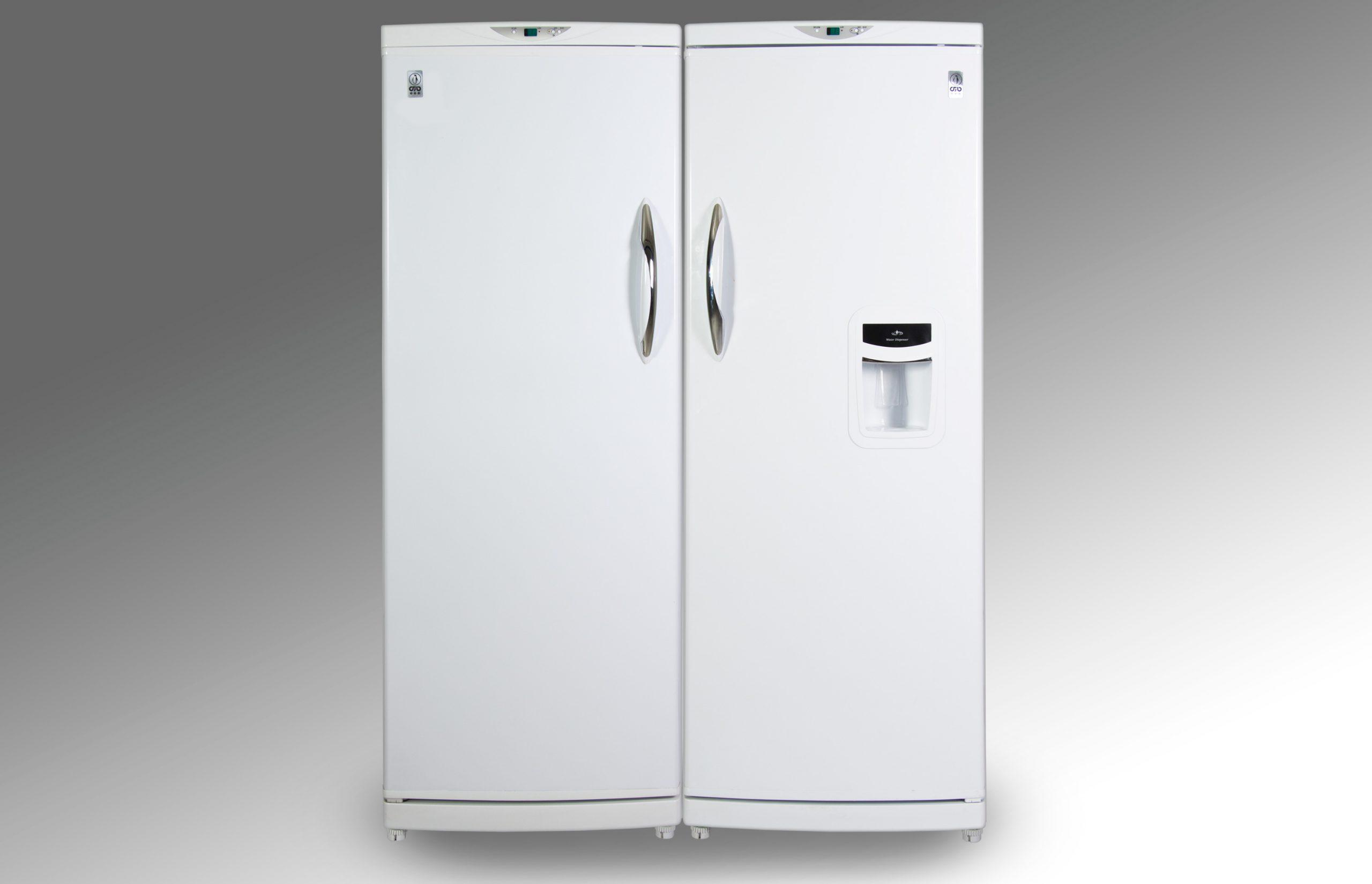 یخچال و فریزر دوقلوی پارس مدل LRDST170WD-FRZNF170
