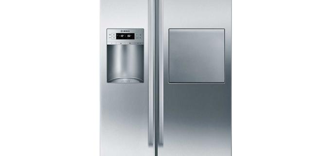 قیمت یخچال 30 فوت ساید بای ساید بوش مدل 80A404