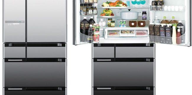 قیمت یخچال و فریزر هیتاچی مدل R-E6800S
