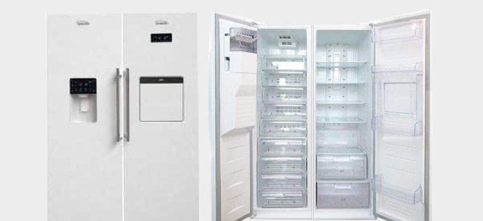 قیمت یخچال فریزر دوقلو الکترواستیل تیتانیوم مدل ES23T/ES23T