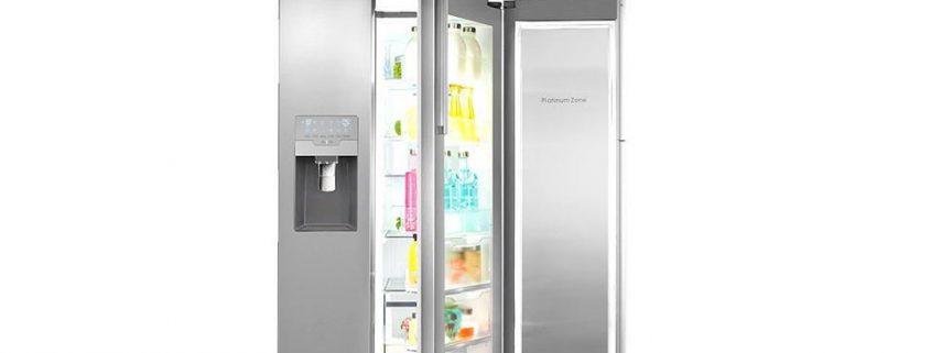 فروش یخچال فریزر ساید بای ساید استیل اسنوا مدل S8-3320SS