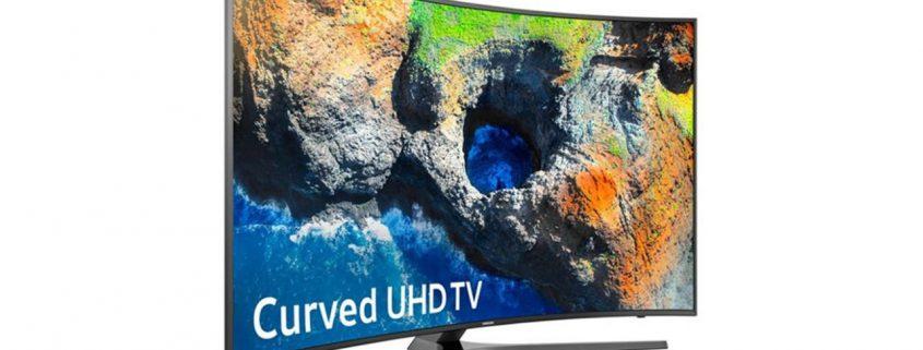 قیمت تلویزیون ال ای دی هوشمند خمیده سامسونگ مدل 55MU7995 سایز 55 اینچ